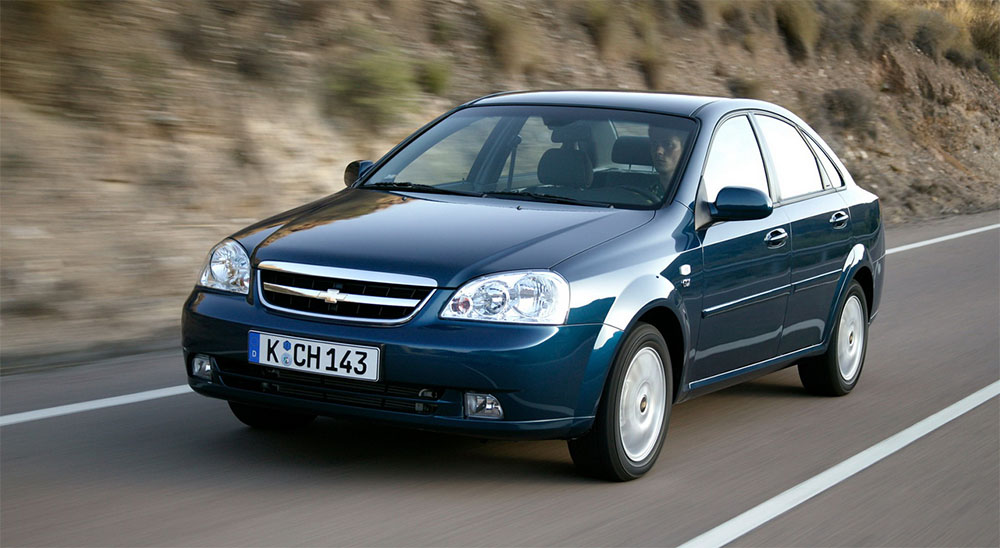 chevrolet lacetti максимальный размер колес