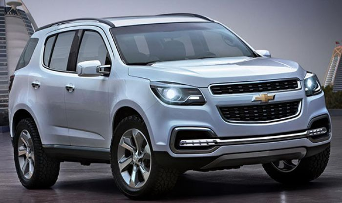 Тест-драйв Шевроле Трейлблейзер (Chevrolet Trailblazer) 2013-2014 видео